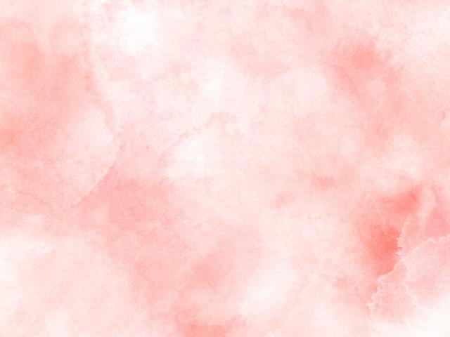 ピンクの水彩画